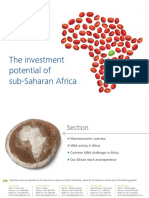 Za Investment Poential Sub Saharan Africa 26012015