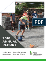 Project Transformation Annual Report - 2018