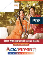 ICICI Pru Immediate Annuity