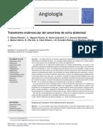 Medidas en Aneurisma Aorta Abdominal