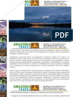 Amazonia Travel 2018 - Rutas