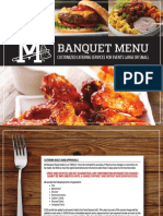 2018 M-Braves Banquet Catering Menu