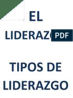 El Liderazgo