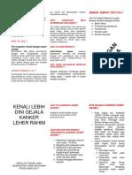 Leaflet Serviks