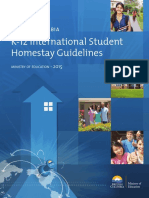 BC Homestay Guidelines