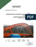 Prueba de Carga - Puente 2