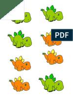 Dinosaurios Cotillon