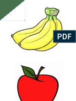 Frutas y Verduras Silaba Medial