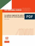 La Cadena Regional Valor La Industria Lacteos Centroamerica