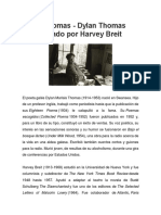Dylan Thomas - Dylan Thomas Entrevistado Por Harvey Breit