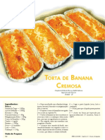 Torta Banana Cremosa