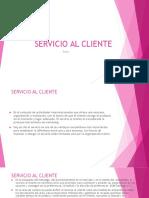 2 Servicio Al Cliente