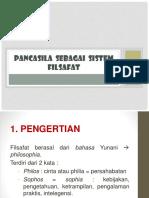 4.Pancasila Viii - Ix Sebagai Sis. Filsafat