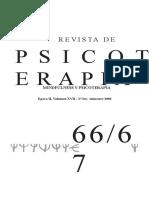 (Revista) Revista de Psicoterapia. Mindfulness y Psicoterapia