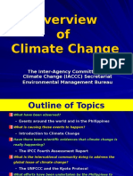 Overview Climate ChangeMay2008