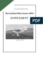 RPL Supplement