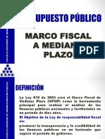 Presupuesto Público Mfmp