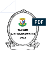 Takwim Cover Page