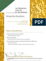 Impactos nas Relações Internacionais do Mercosul na Atualidade Perspectiva Econômica