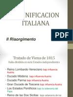 La Unificacion Italiana y Alemana