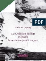 (Faux titre 272) Dupouy, Christine-La question du lieu en poésie _ du surréalisme jusqu'à nos jours-Rodopi (2006).pdf