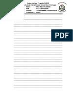 Format Laporan Kimia