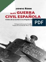 Renn Ludwig. La Guerra Civil Española.