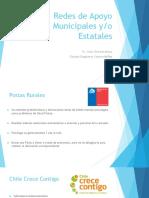 Redes de Apoyo Municipales