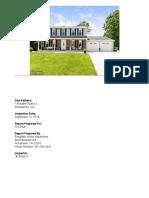Sample Report - Radon Test
