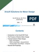 Ansoft Solution Motors[1]