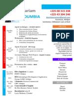 CV Mariam Doumbia 2