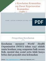 Kuliah 1 Kep Kom 1 Kp semester 6 th 2018 Konsep Dasar Keperawatan Komunitas.pptx