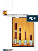 CAPACITIVE VOLTAGE TRANSFORMER 040126