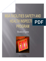 I- Means of Egress - Conducting Safety and Health Hazard Insp (RL-VPP Web)
