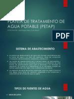 Planta de Tratamiento de Agua Potable (Petap