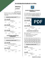 Sesion de Aprendizaje  N° 48  Sucesiones Aritmeticas y Geometricas  Ccesa007