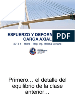 RM1 Clase 08 - Esfuerzo y Deformación. Carga Axial (5) - VCLASE
