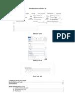 Membuat Format Daftar Isi