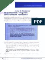 Monitoreo de Proyectos y Cooperación internacional MINSA
