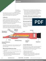 Cara Menggunakan Refractometer