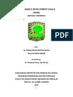 Referat SDGs