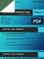 Ejecucion Contractual Titulo Vi Original