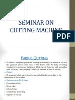 Presentation on Fabric Cutting