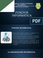 Funcion Informatica