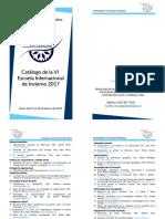 Catálogo de La Escuela de Invierno 2017