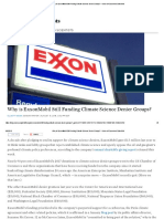Why is ExxonMobil Still Funding Climate Science Denier Groups?