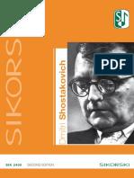 Schostakowitsch_werkverzeichnis