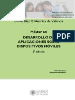 Dossier Master Moviles 5ed