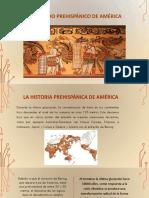 El Periodo Prehispánico de América