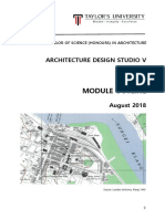architectural design studio v  arc 60306  - module outline - august 2018
